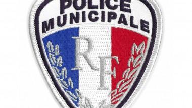 Les écussons de la police municipale