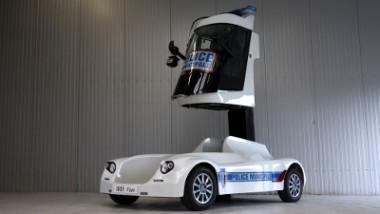 Les véhicules de la police municipale